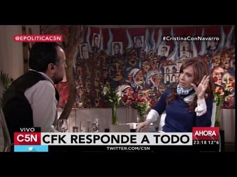 Cristina:Alguien con el apellido Macri no puede hablar de patria contratista