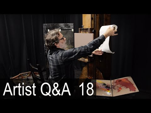 Tour of My Painting Studio & more – Ep.18 Oil Painting Q&A with Mark Carder