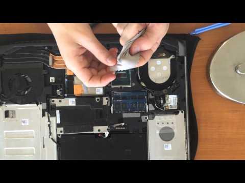 Alienware 17 CPU Repaste IC Diamond 7