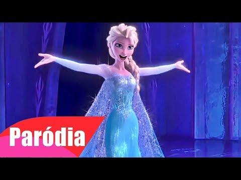 Frozen - Let it Go (Paródia/Redublagem) Macumba Saravá