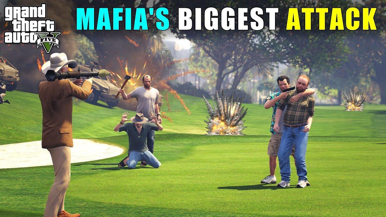 MAFIA'S BIGGEST ATTACK ON MICHAEL   GTA 5 134   GTA V GAMEPLAY #134