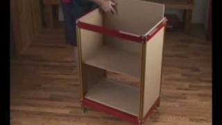 Incra Router Table Stand, Shelf Supports, And Wheel Kit Presented By Woodcraft