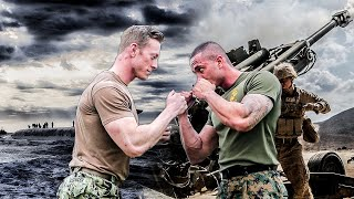 EPIC US Marine vs US Sailor Obstacle Course Battle