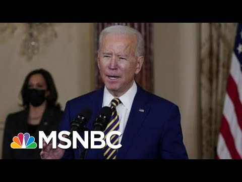 Biden Approval Stands At 61 Percent In New Polling | Morning Joe | MSNBC