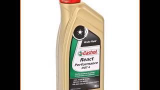 Тормозная жидкость Castrol React Perform DOT4, 1 л