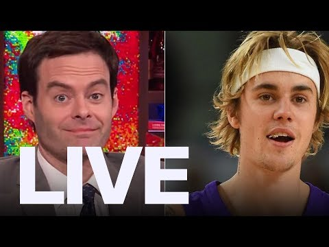 Download Youtube: Bill Hader Calls Justin Bieber The Worst SNL Guest  | ET Canada Live
