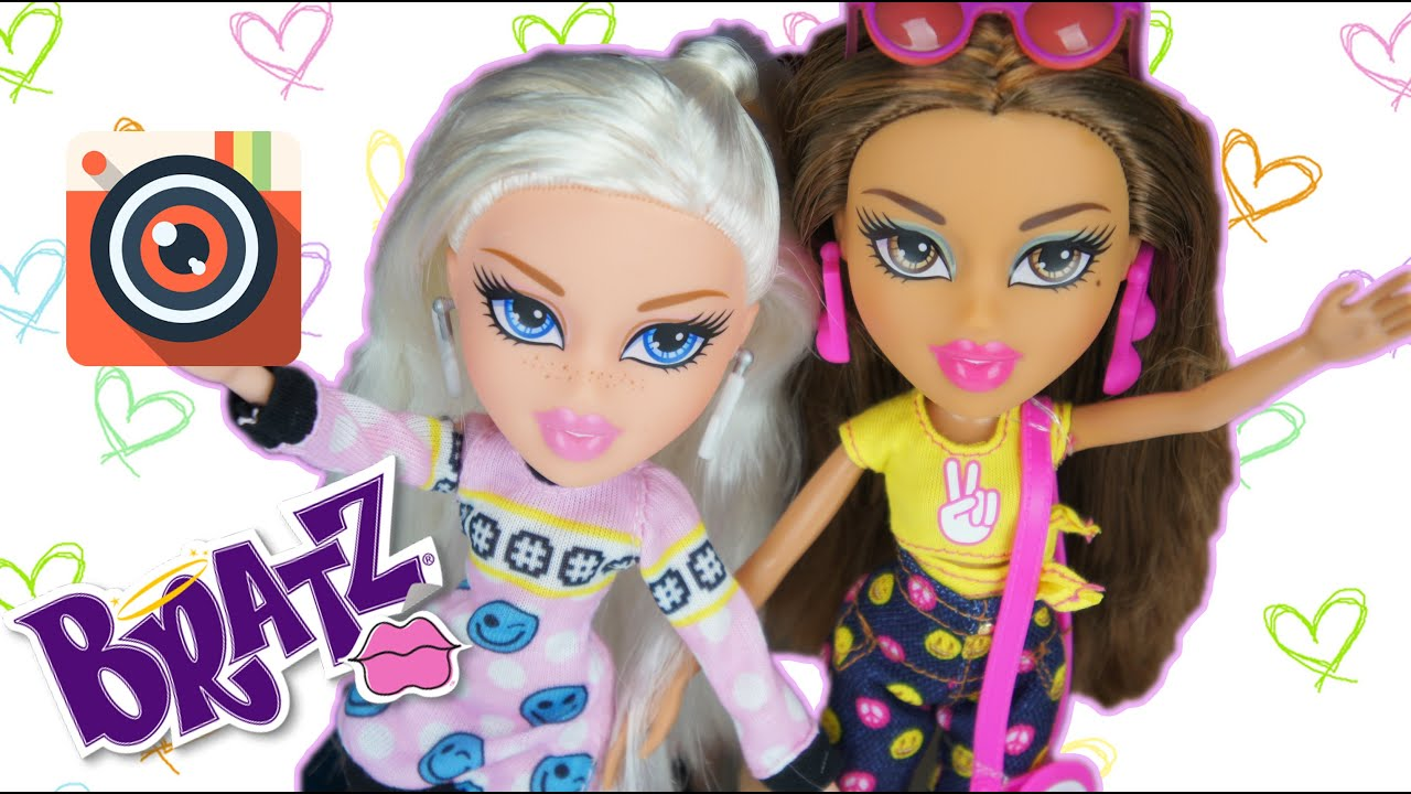 bratz selfiesnaps cloe and yasmin wave 2 doll reviews