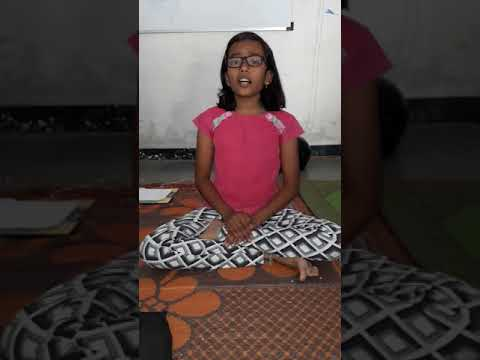 Prayer  Hich Amuchi Prarthana Aditi Tarte , Nadbramha Music Academy Karjat A.Nagar  mo. 9421553943