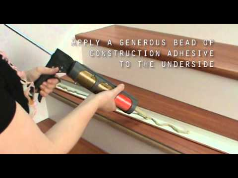 Framerica 174 Lvt Stair Nose Installation Youtube