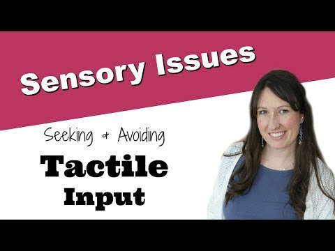 Tactile Seeking And Avoiding Activities For Sensory Integration Dysfunction In Children