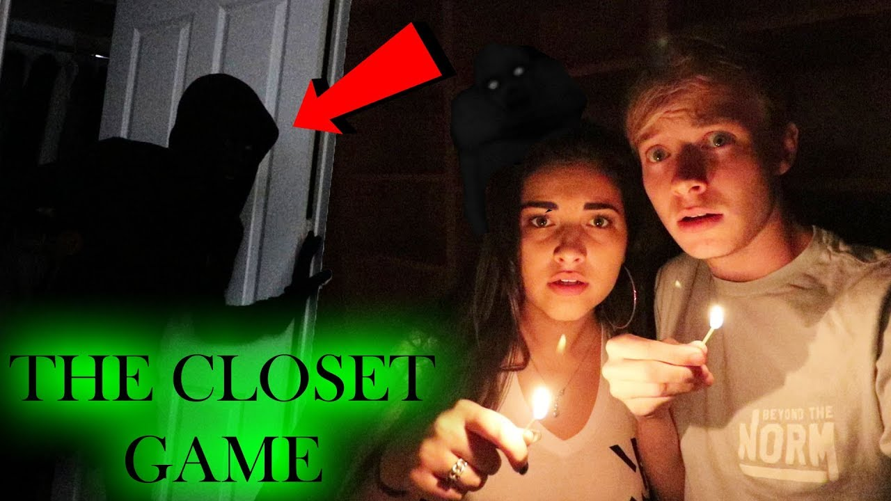 PLAYING THE CLOSET GAME // 3 AM OVERNIGHT CHALLENGE | Sam Golbach
