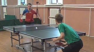 Дмитрий ОСИПОВ vs Андрей БУКИН, Турнир Master Open, Настольный теннис, Table Tennis