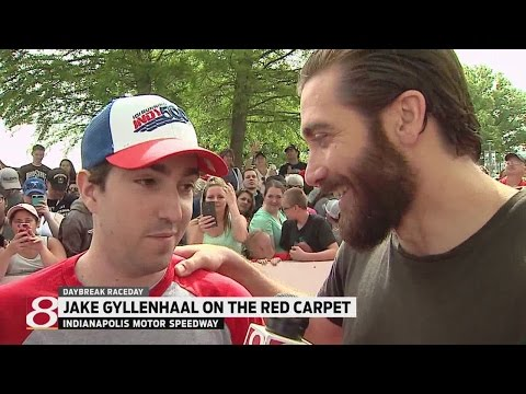 Boston Marathon bombing survivor, actor Jake Gyllenhaal talk to WISH-TV
