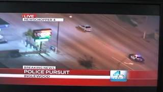 Amazing Police Car Chase!