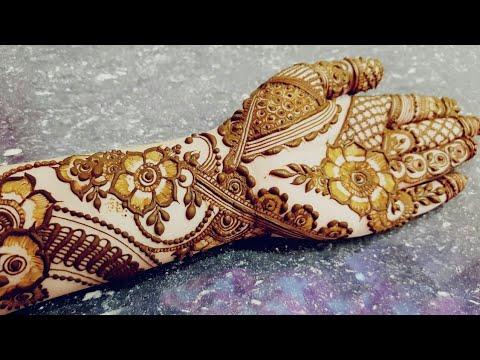 Ramazan Special Mehndi Design 4 2018 Heena Vahid Youtube