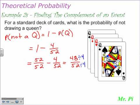 Probability of Complementary Events (solutions, examples ...