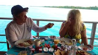 breakfast in bora bora mukbang