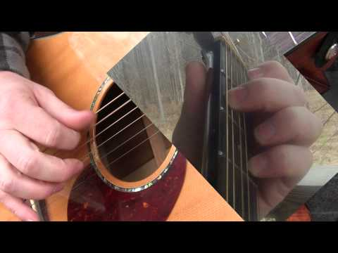 Landslide Without Capo Acoustic Guitar Three Chords Lesson Loop