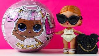 #Ляльки ЛОЛ Я НЕ ГАРНА? Розпакування іграшки #сюрпризи LOL GLAM GLITTER video Kids