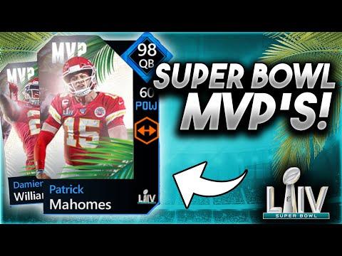 98 SUPER BOWL MVPS! + PICK 'EMS! - Madden Mobile 20