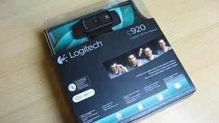 Logitech HD Pro Webcam C920 - rozbalení (unboxing)