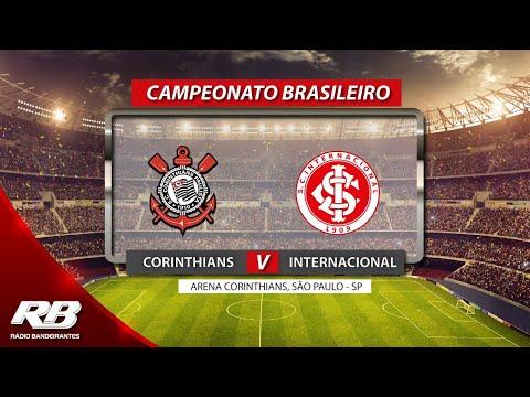 Corinthians x Internacional AO VIVO - Campeonato Brasileiro - 17/11/2019