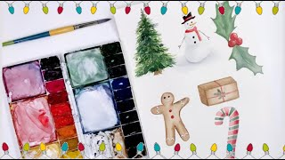 Paint With Me: LIVE Holiday Tutorial