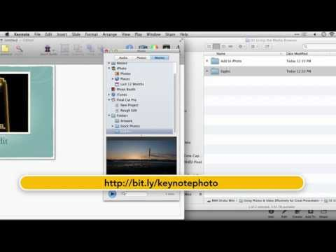 Drawing Lines In Keynote : Lynda keynote adding your own folders to the media browser