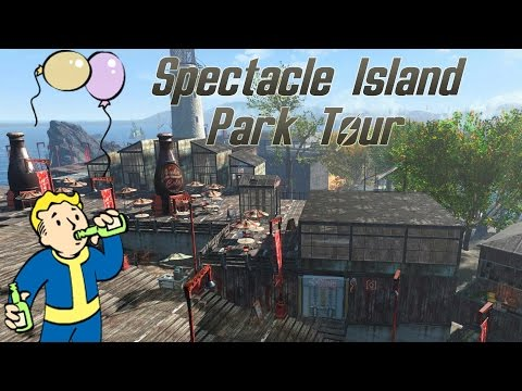 Fallout 4: Spectacle Island Park - Abschlusstour (bei Tag)