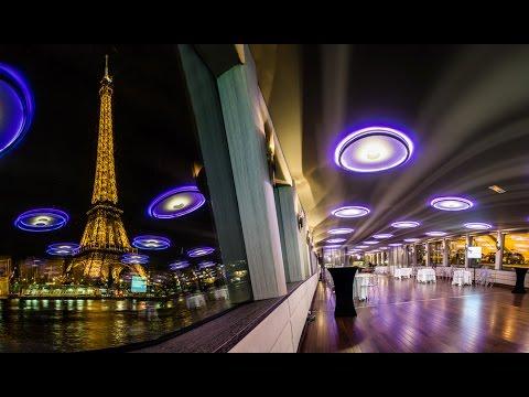 Bateau Le Diamant Bleu, Dinner Cruise In Paris