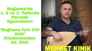 Mehmet KINIK - Uzun Sap Bağlama 2-3 Telde Parmak Egzersizleri (Etüt 81)