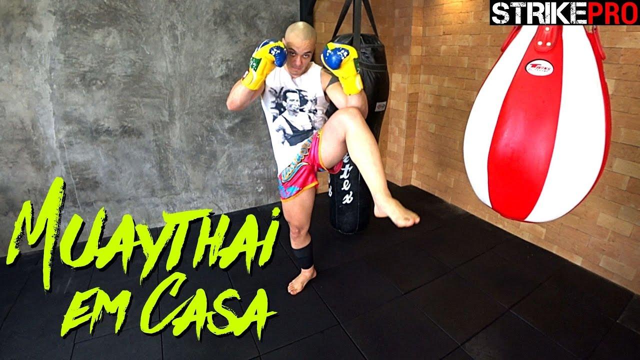 A diferença na movimentação e no ritmo de luta 🥊 Muay Thai em Casa