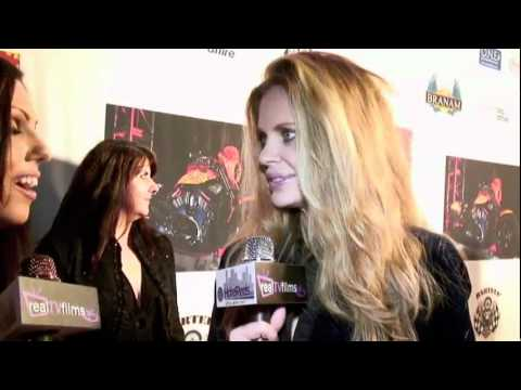 Kristin Bauer - Interview for RealTVfilms at the Cosmic Starship Jack Armstrong 2010