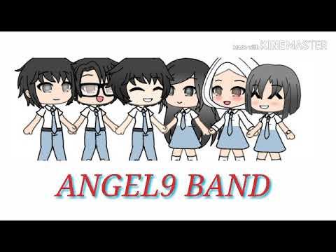 Lagu Perpisahan MASA SMA ANGEL9 BAND Vs Gacha Life