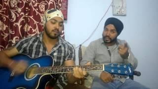 Patiala Peg (Diljit Dosanj) Ft. Nikk & Mani Sandhu Guitar version
