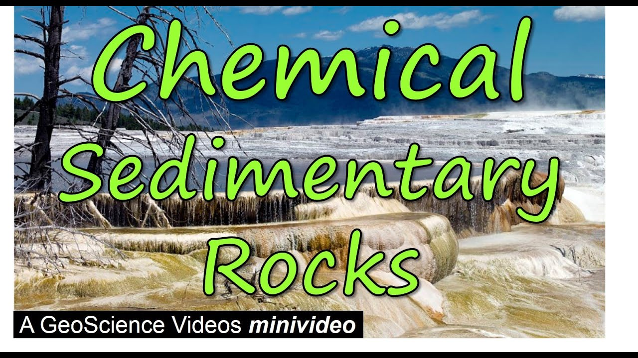 Chemical Sedimentary Rocks Youtube