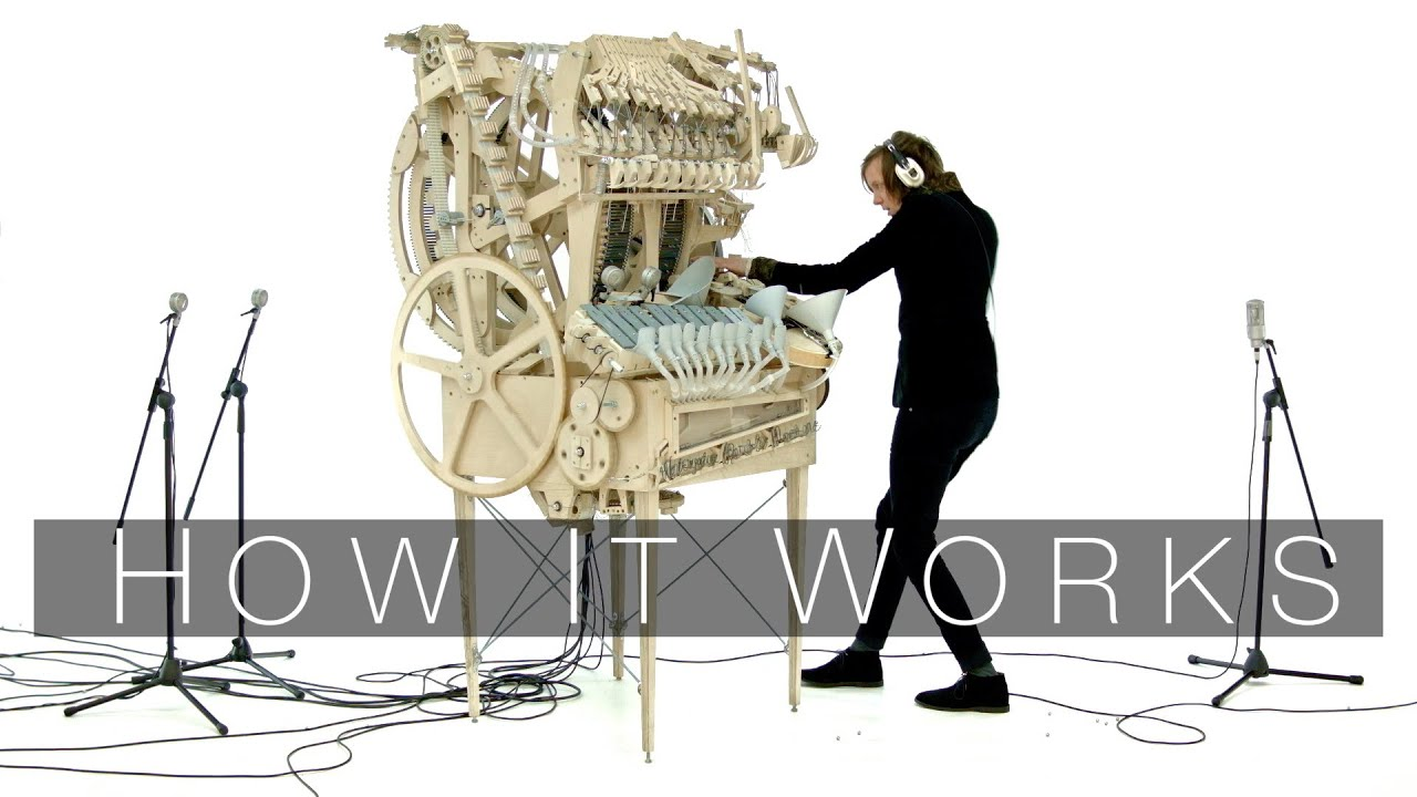 Image result for Wintergatan - Marble Machine  Images
