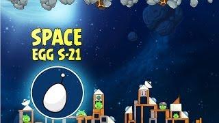 Angry Birds Space S-21 Beak Impact Bonus Level Walkthrough
