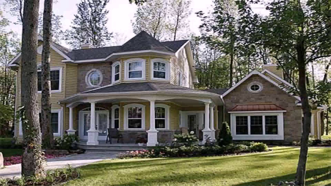 Small Victorian Style House Plans - YouTube