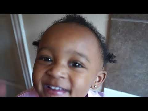 HOW TO WASH BABY HAIR   GROW BALD SPOT #SHEAMOM