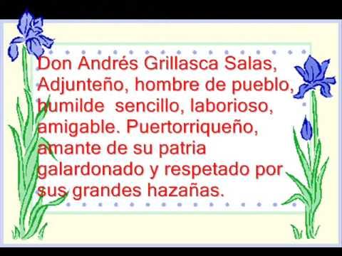Himno a Andres Grillasca Salas