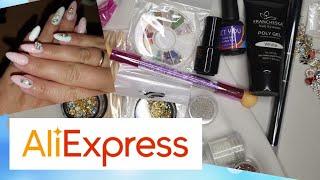 Заказ с AliExpress для дизайна ногтей Сделала себе новый маникюр