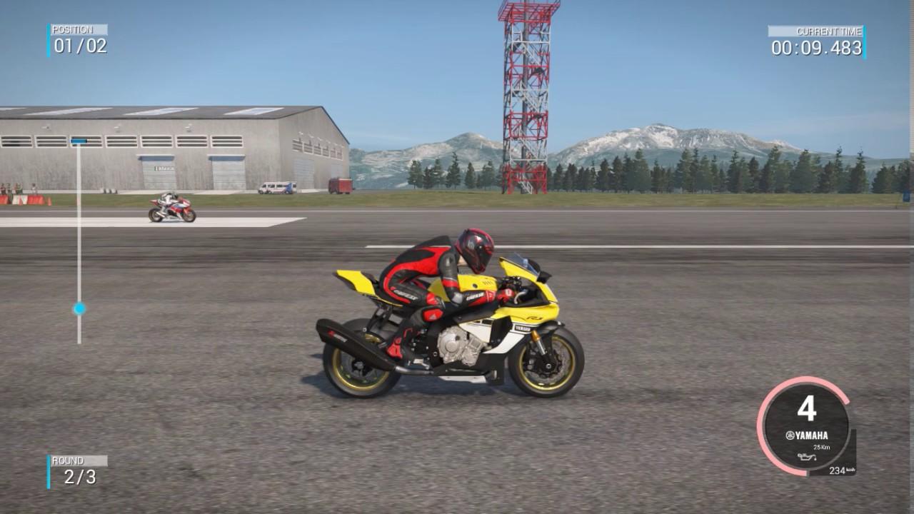 Ride 2 Drag Race Yamaha YZF R1M Vs Honda CBR 1000RR