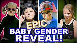 Epic Gender Reveal video - A Pickering Spy Movie