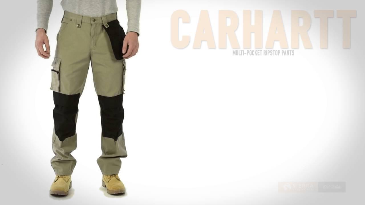 Carhartt Hose Cotton Ripstop Prevención y seguridad