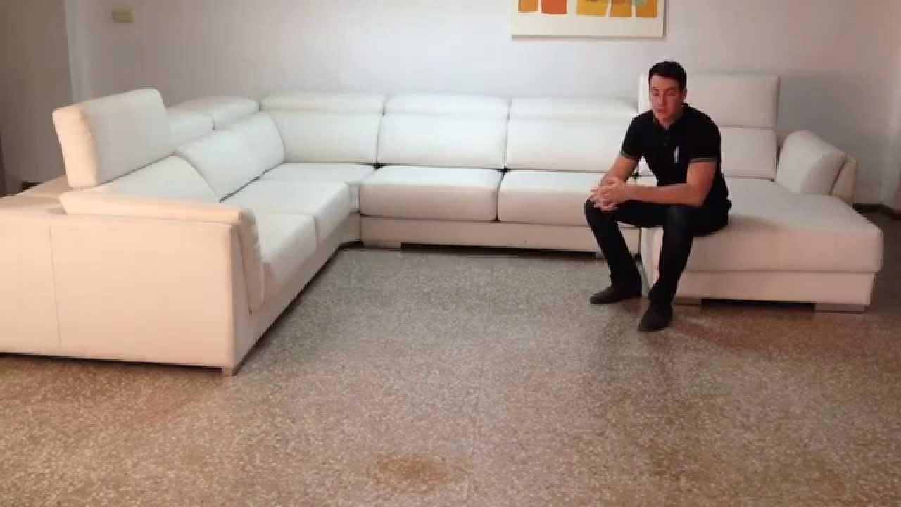 Sofas rinconera de fabrica youtube for Sofa exterior esquina