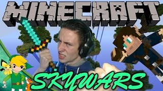 LINK VS HARM! - Minecraft SkyWars [Ft. HetGameS]