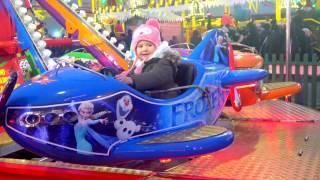Эльза Самолет Эльвира на самолете Эльза Холодное сердце Видео Для детей Новогодние мультики