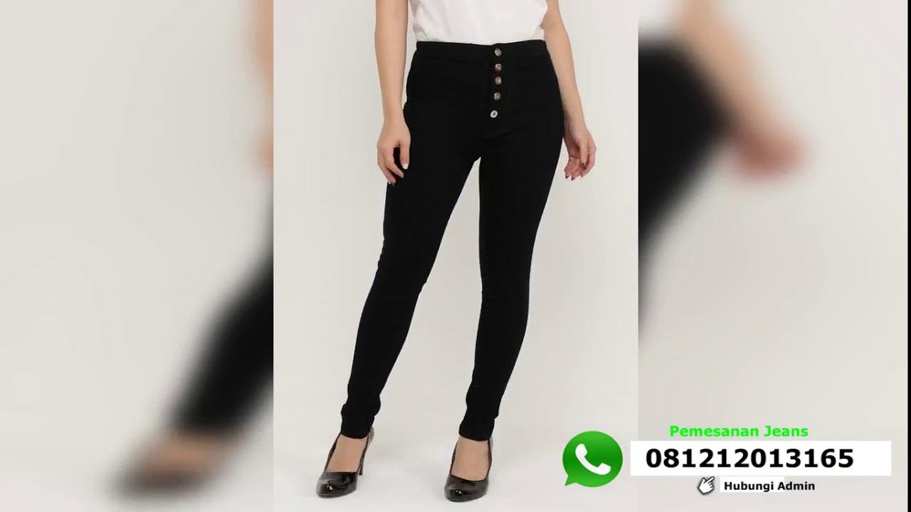 Celana Jeans Wanita Terbaik Style Celana Jeans Wanita Kekinian Di Tahun 2018 Youtube