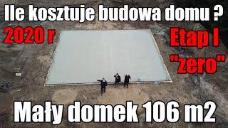 """Ile kosztuje budowa domu ?  Etap I tzw. """"zero""""  Podsumowanie kosztów budowy domu #domza150tysiecy.pl"""